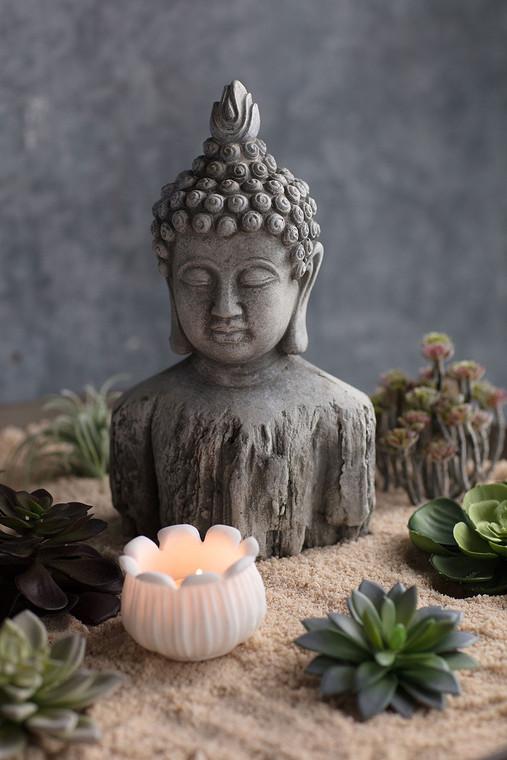 Cement Buddha Torso