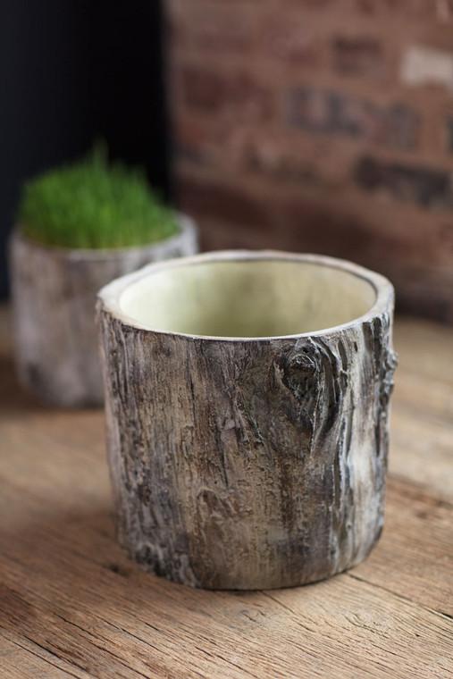 Cement Tree Trunk - Medium
