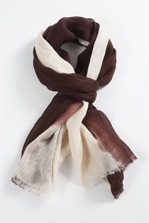 Brown Dyed Scarf