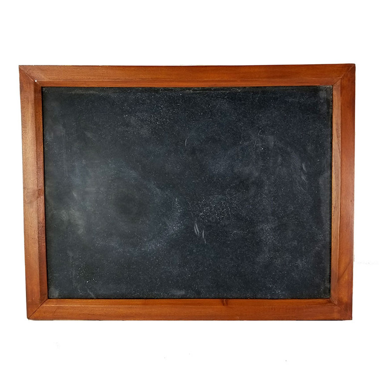 Vintage  Solid Wood Slate Chalkboard