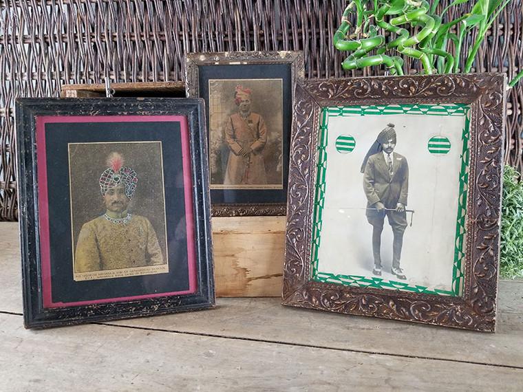 Set of Three Vintage Illustrations of Hindu Princes IV