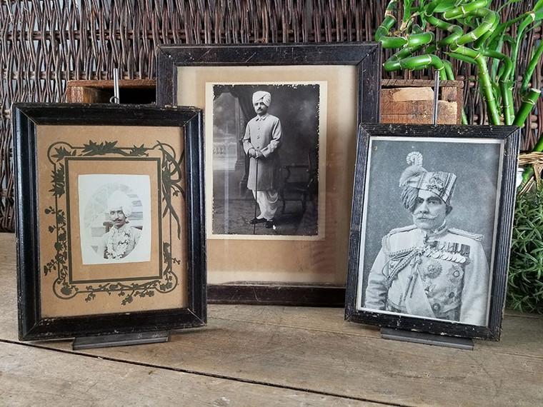 Set of Three Vintage Illustrations of Hindu Princes V