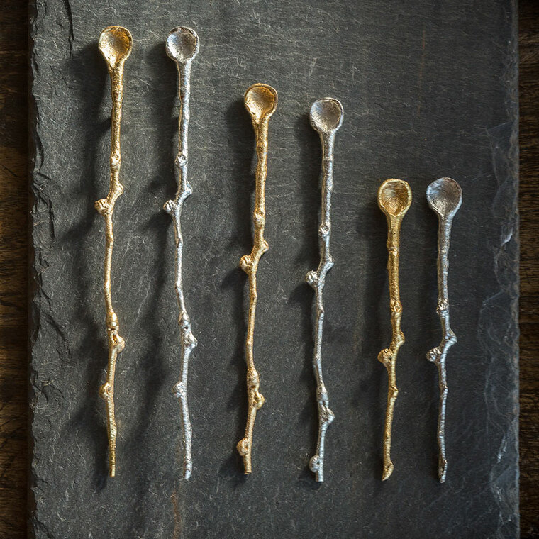 Gold Decorative Spoon