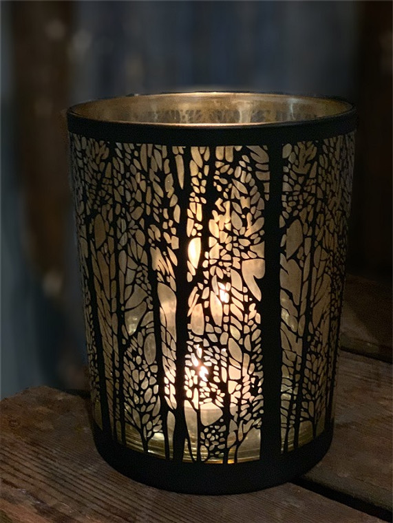 Black Tree Votive