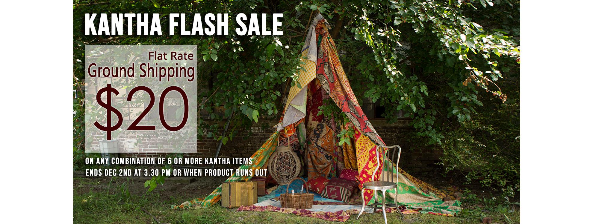 Vintage Fabrics Flash Sale