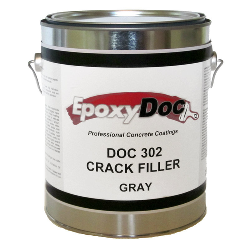 EpoxyDoc crack filler paste.  fill small cracks in concrete before applying epoxy top coats.