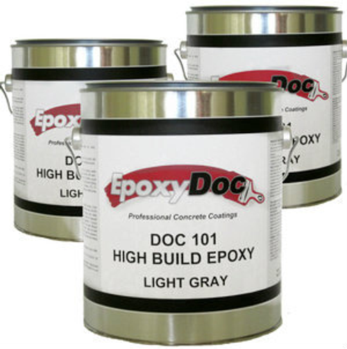 3 Gallon Epoxy 100% solids epoxy.  Recommended for garages, hangers, warehouses, storage rooms, auto bays, showrooms, and more.