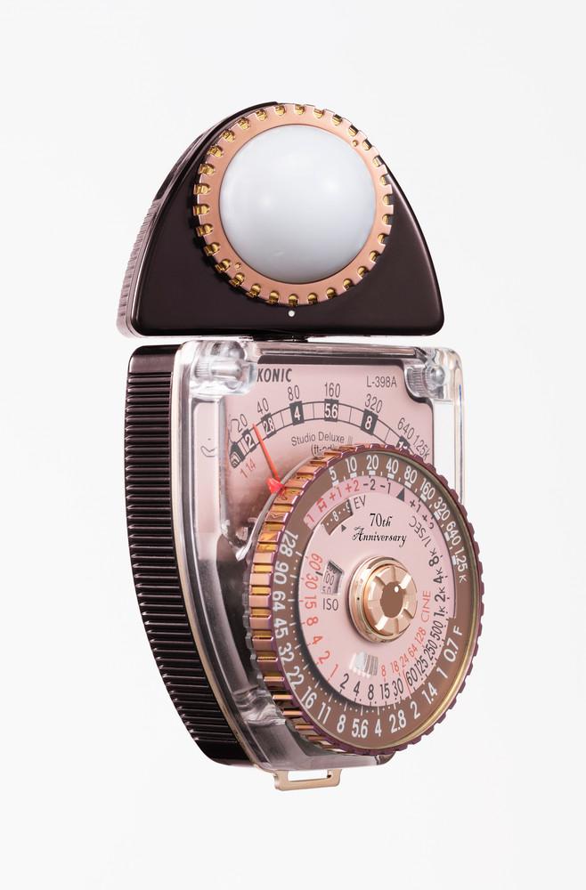 Sekonic 70th Anniversary Edition L-398A STUDIO DELUXE III Analog Light Meter