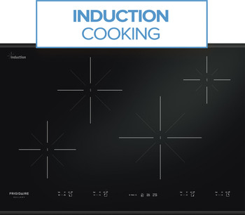 "Frigidaire Gallery 30"" Black Induction Cooktop with Express-Select Controls FGIC3067MB"