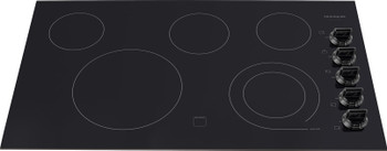 "Frigidaire Gallery 36"" Black Electric Smoothtop 5 Element Cooktop FGEC3645KB"