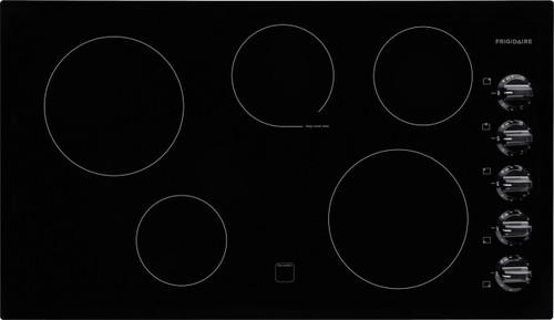 "Frigidaire 36"" Black Electric Smoothtop Cooktop FFEC3624PB"