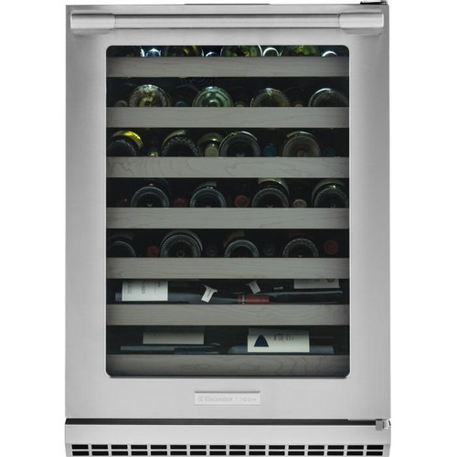 "Electrolux ICON® 24"" Under-Counter 48 Bottle Wine Cooler E24WC50QS"