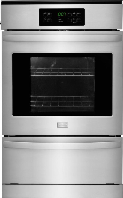 Frigidaire 24'' Quick Clean Stainless Steel Gas Single Wall Oven FFGW2425QS