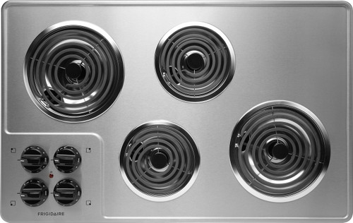 "New Frigidaire 32"" 32 Inch Stainless Steel Electric Coil Cooktop FFEC3205LS"