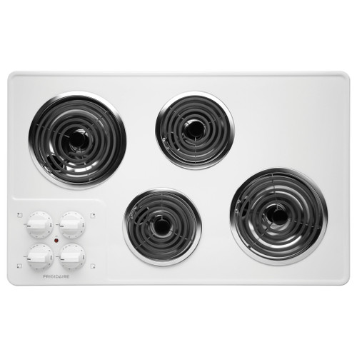 "New Frigidaire 32"" White Electric Coil Stovetop Cooktop FFEC3205LW"