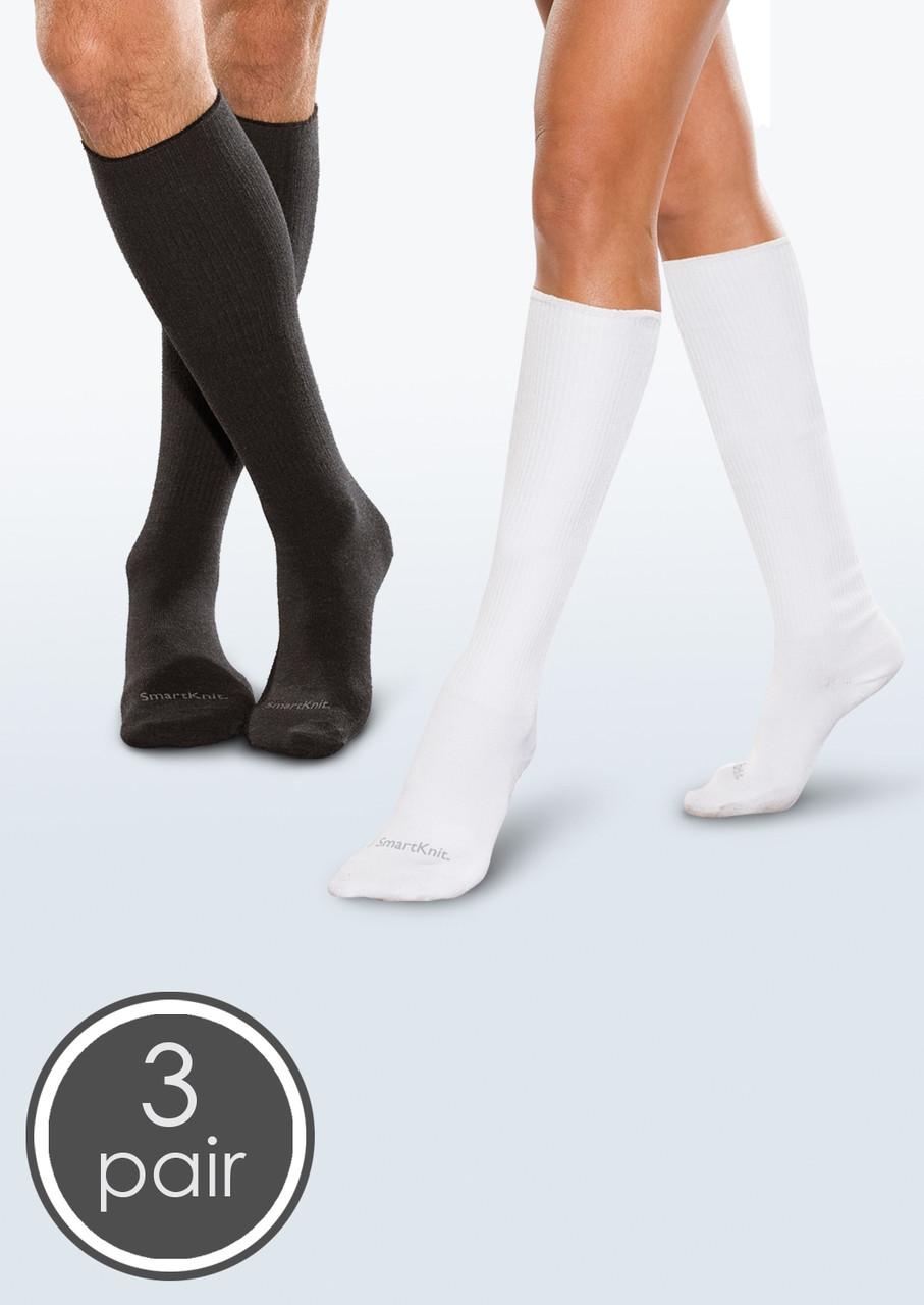 Beige Pack of 5 Diabetic Ankle High Socks