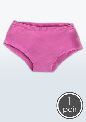 Girls' Seamless Low Rise Boy Cut Style Undies