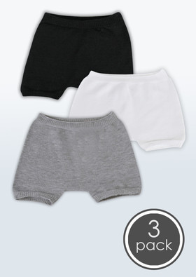 Boys' Seamless Boxer Briefs, 3 Packs