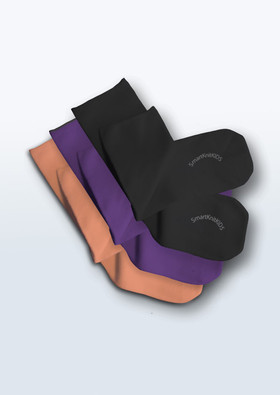 Kids' Seamless Sensitivity Socks - Halloween 3-Pack