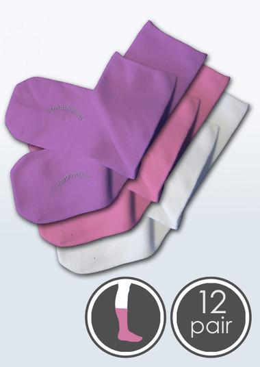 Kids Seamless Sensitivity Socks - 12 Pack