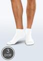 Seamless Diabetic Mini Crew Socks - 3 Pack