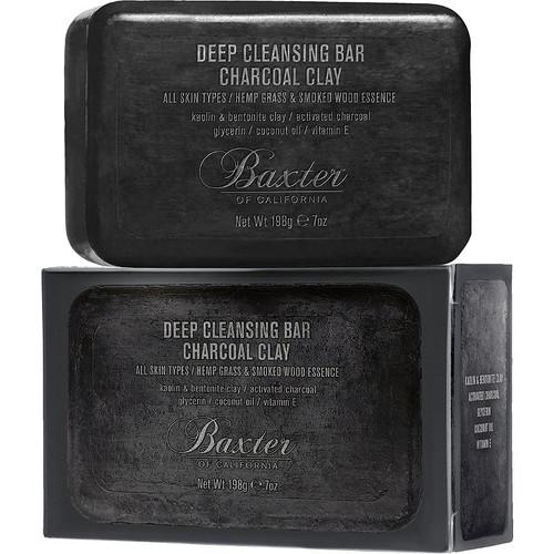Baxter Deep Cleansing Bar Charcoal Clay 7oz