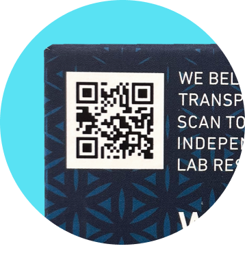 Scan QR to view independent lab results