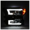 Ford F150 2015-2017 Projector Headlights - Light Bar DRL LED - Smoke