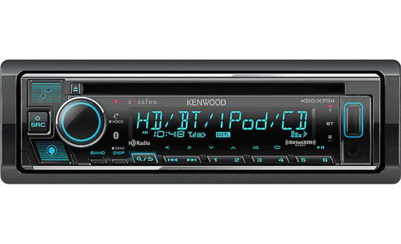 USB SIRIUSXM NEW Kenwood Excelon DPX593BT CD Receiver with USB Interface AUX