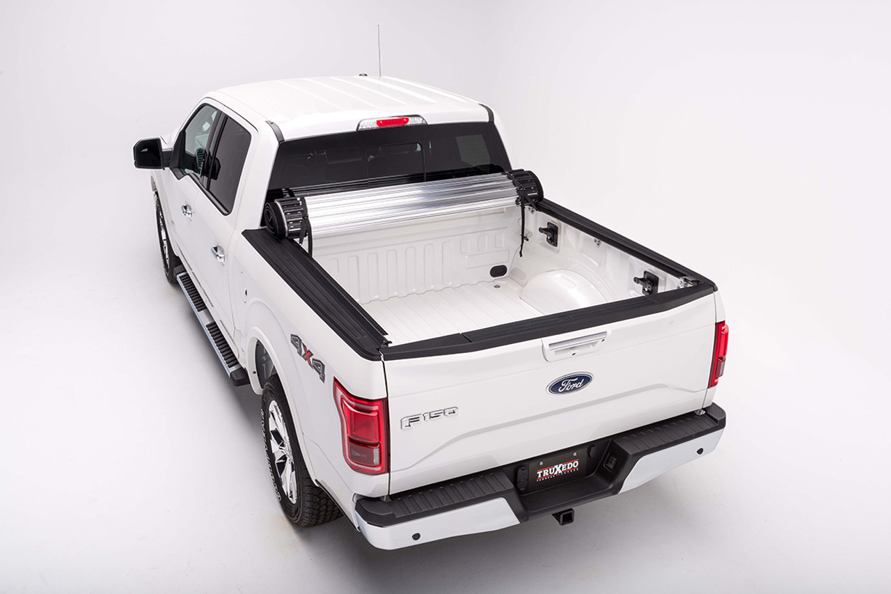2015 2017 Ford F 150 Truxedo Titanium Tonneau Cover For 5 5 Bed Stereo West Autotoys