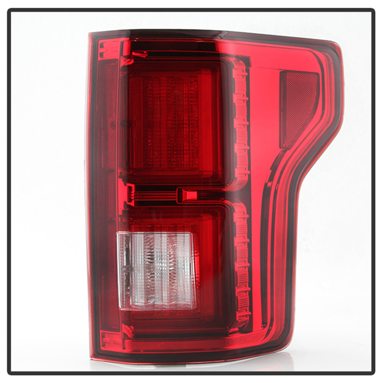 Ford F150 2015 2017 Light Bar Led Tail Lights Red Clear