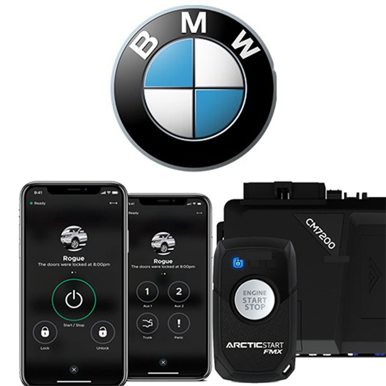 Ads Bm1 Bmw Remote Start Stereo West Autotoys