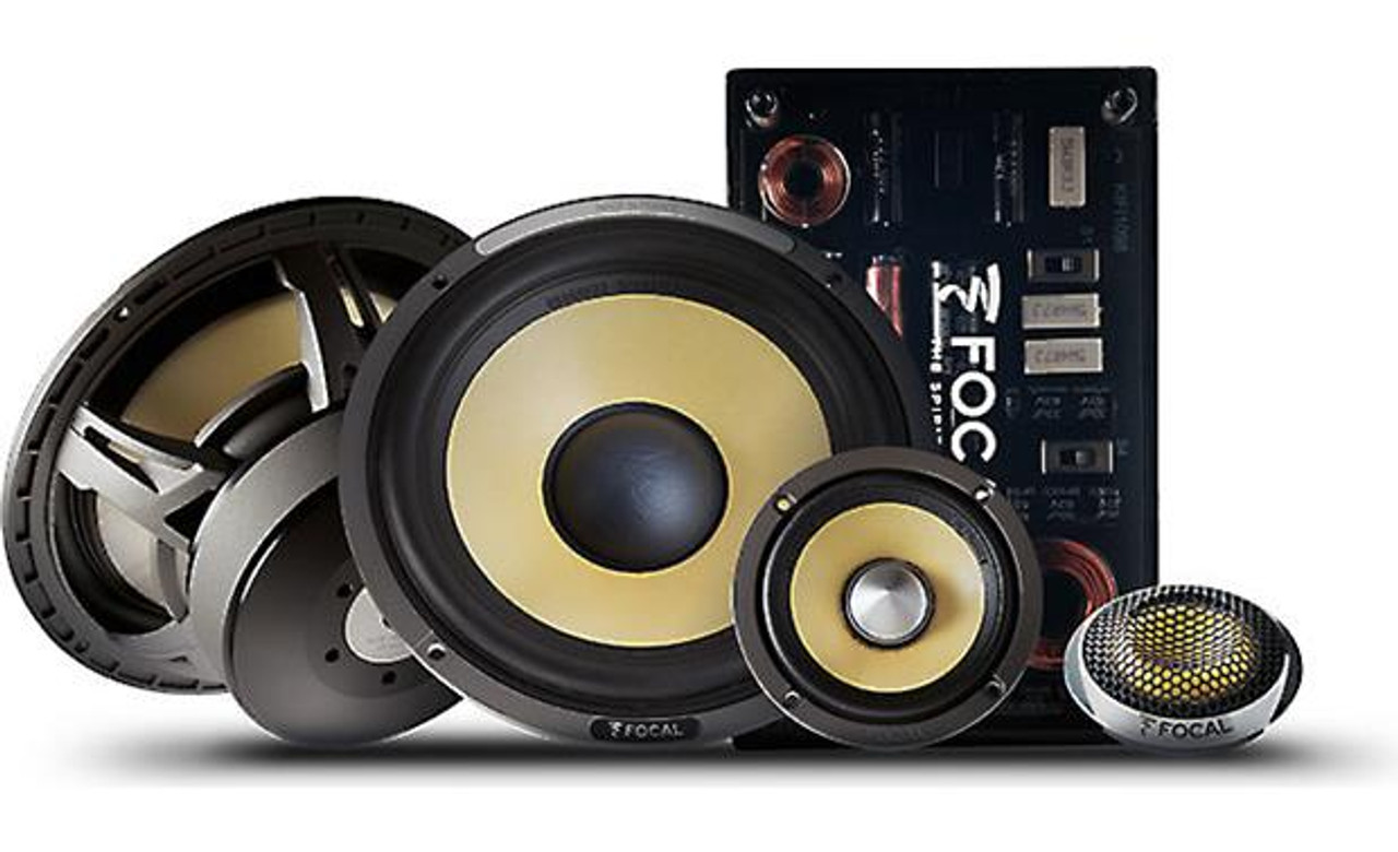 "Focal ES 9KX9 9-9/9"" 9-way component speaker system"