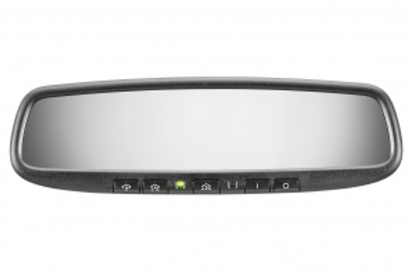 Gentex Auto-Dimming Rearview Mirror w/ HomeLink Activate garage doors, gates, home lighting and more with the press of a HomeLink® button nicely integrated into the auto-dimming rearview mirror.