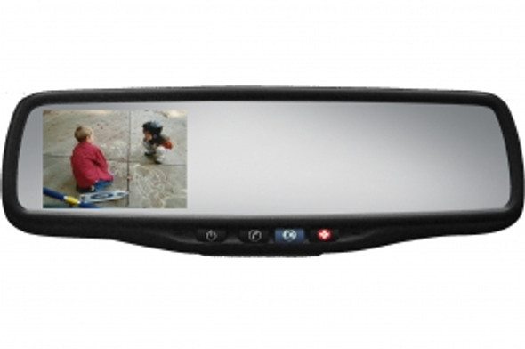 "50-GENK356S Gentex Auto-Dimming Rearview Mirror w/ 3.5"" Rear Camera Display & OnStar Retention"