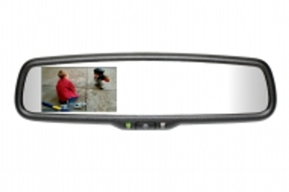 "50-2010TUNK332 Gentex Auto-Dimming Rearview Mirror w/ 3.3"" Rear Camera Display for Prewired Toyota Tundra"