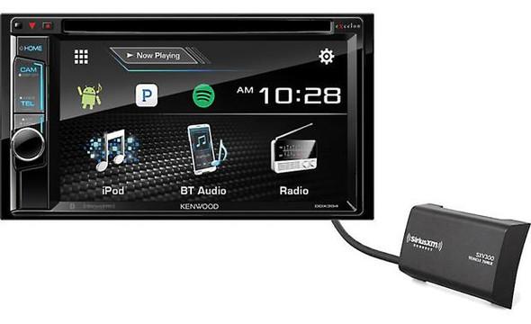 Kenwood Excelon DDX395-SAT DVD receiver with free SiriusXM satellite radio tuner