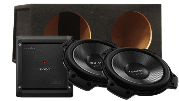 Kenwood Package Deal 12in Subs
