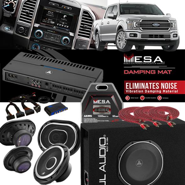 JL Audio F150 System