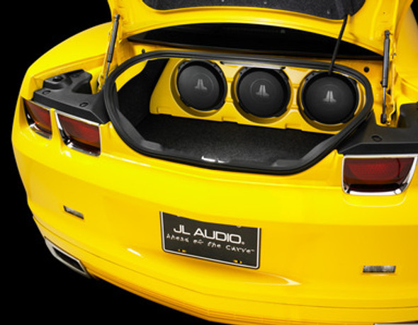 SB-GM-CTRIP/10TW3/UF: Stealthbox® for 2010-2015 Chevrolet Camaro, paint-to-match SKU # 94603