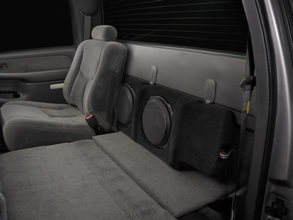 """SB-GM-SLVCRW/10TW3: Stealthbox® for 1999-2006 Chevrolet Silverado / GMC Sierra Crew Cab Trucks & Early 2007 Crew Cab """"Classic"""" Trucks SKU # 94574"""