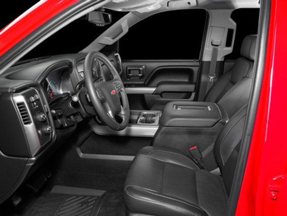 SB-GM-3GSLVCNSL/10TW1: Stealthbox® for 2014-Up Chevrolet Silverado / GMC Sierra with Front Bucket Seats and Factory Console SKU # 94645