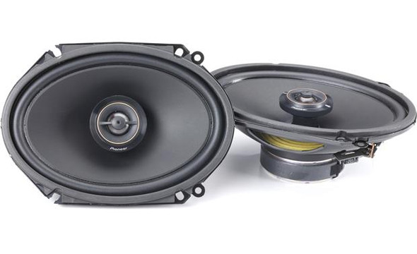 "Pioneer TS-D68F D Series 6""x8"" 2-way car speakers"