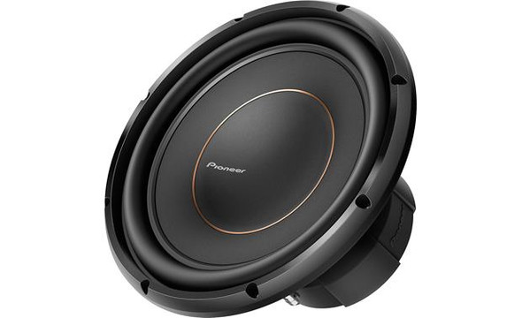 "Pioneer TS-D12D4 12"" subwoofer with dual 4-ohm voice coils"