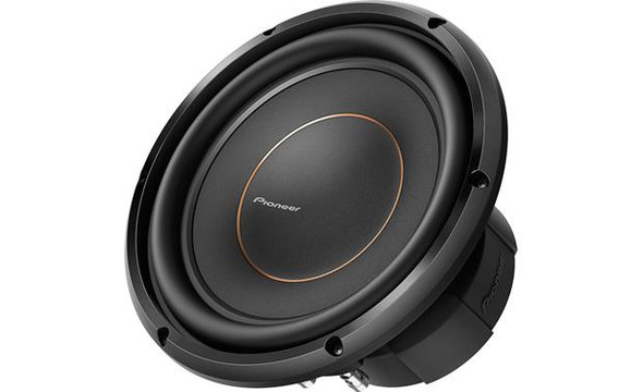 "Pioneer TS-D10D2 D Series 10"" subwoofer with dual 2-ohm voice coils"