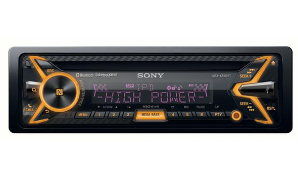 Sony MEX-XB100BT CD receiver