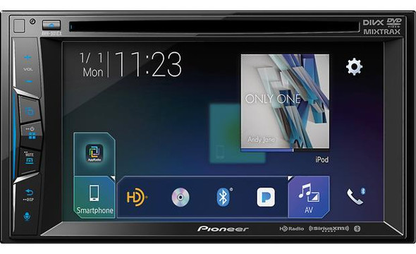Pioneer AVH501EX 2 DIN Touchscreen Receiver