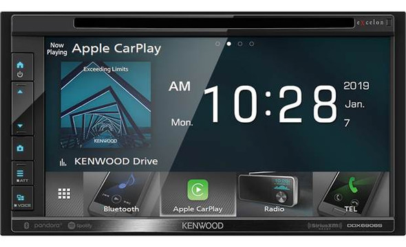 Kenwood Excelon DDX6906S DVD receiver