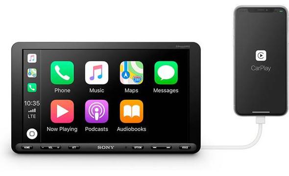 """Sony XAVAX8000 8.95"""" Touchscreen Apple Car Play"""