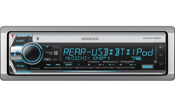 Kenwood KMR-D768BT Marine CD receiver with Bluetooth®